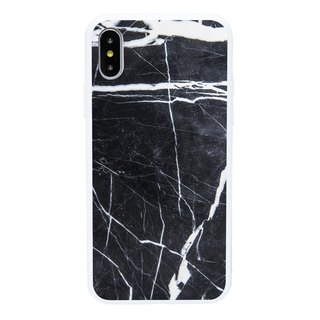 Black Marble iPhone 6 7 8 Plus X Mobile Shell