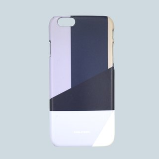 GRAPHIC PRINT - FEDERAL NAVY iPhone Case