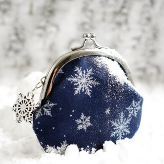 2018 Christmas Limited Edition - Aurora OLA Snowflake Small Gold Bag - Attached Charm