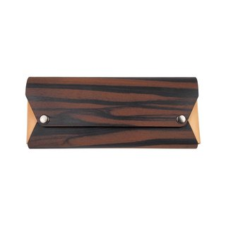 【TREETHER】 Ebony Pencil Case
