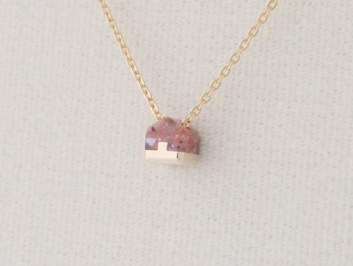 Necklace Home micro Coral