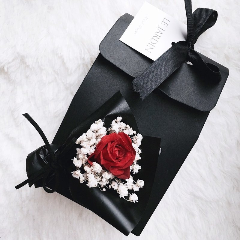 """Le Jardin"" mini-immortalized small bouquet of roses Tihe flower gift / Valentine's Day birthday gift"
