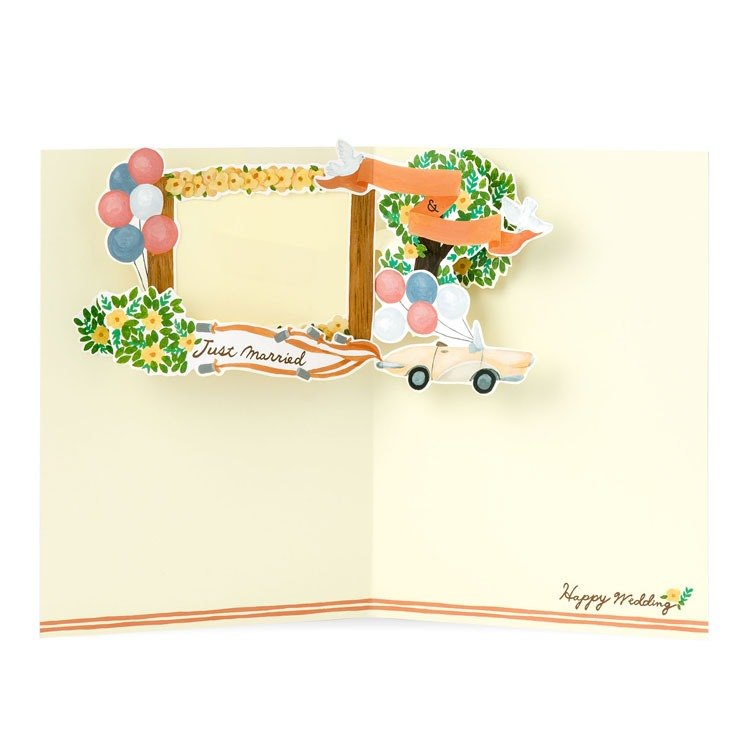 Iroha - Surprise Card - Pink Wedding
