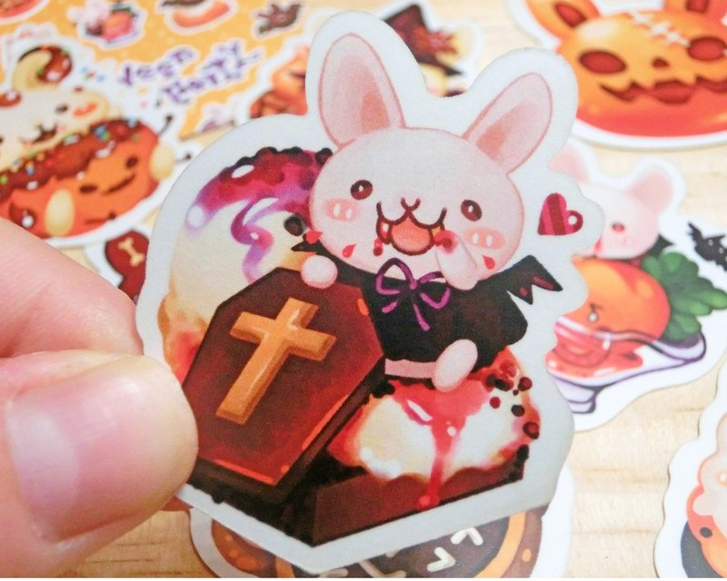 Styling Sticker Pack - Halloween Rabbit