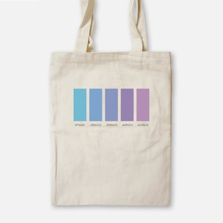 Psychedelic - Painted Canvas Bag