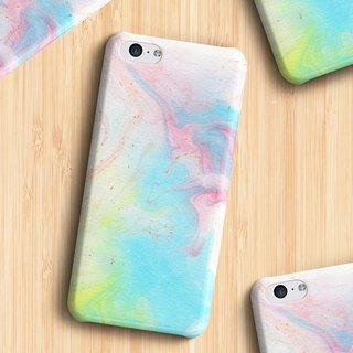 Melted rainbow/colourful Phone case