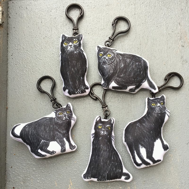 Black Cat QQ Penghui Key Ring / Charm part3
