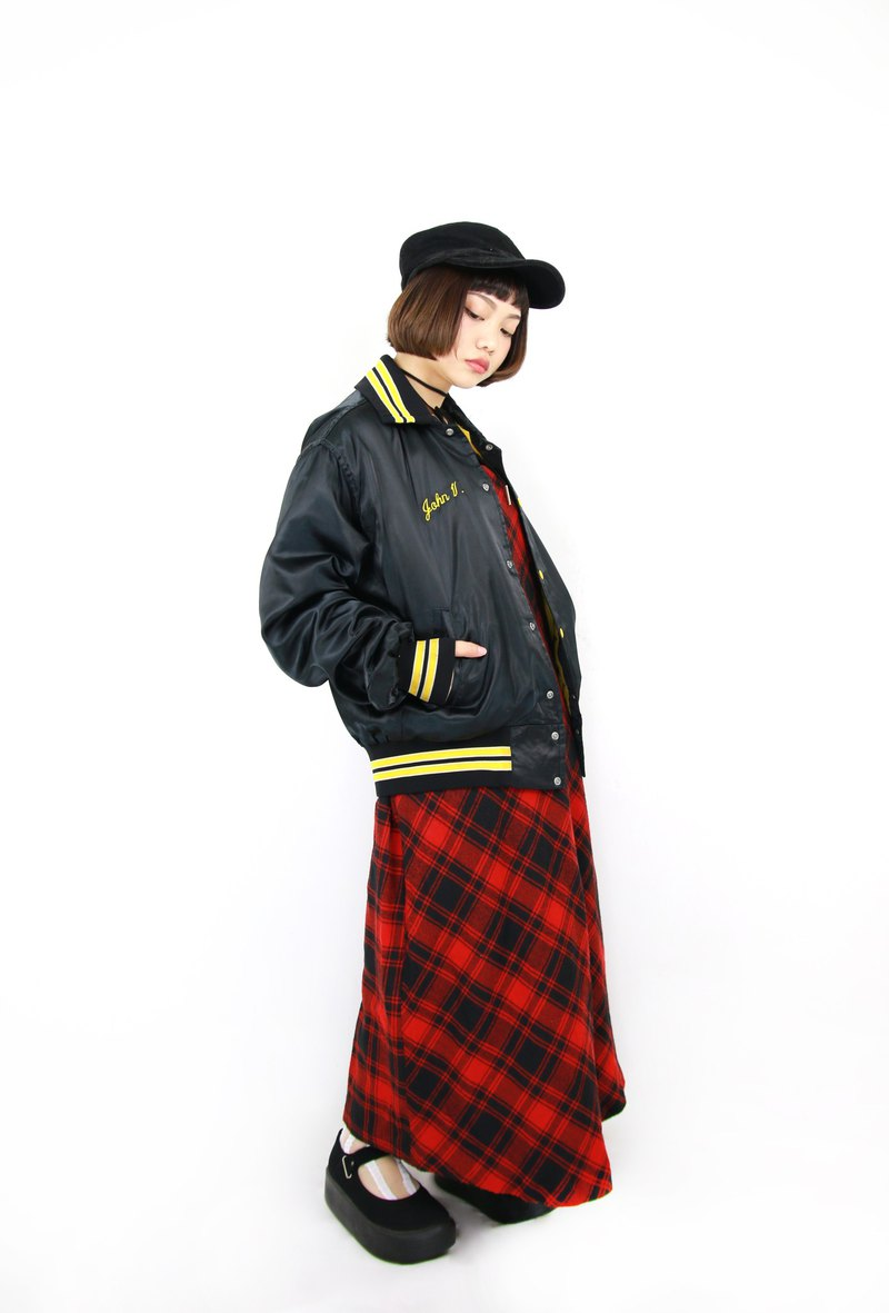 Back to Green:: 卡車棒球外套 LIMOUSINF vintage jacket (C-08)