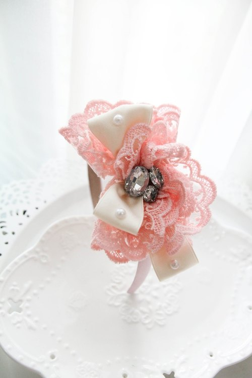 Sweet House Fenju romantic lace headbands