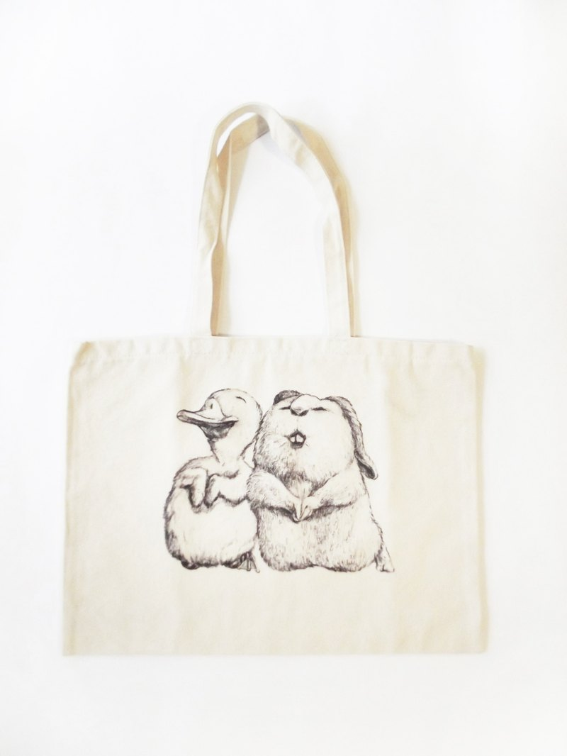 Prayer for Rabbits and Ducks - Eco Bags