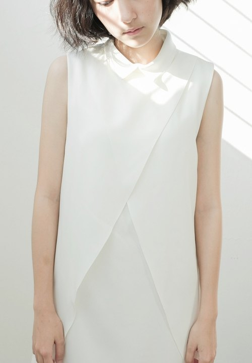 Canele Dress (white)