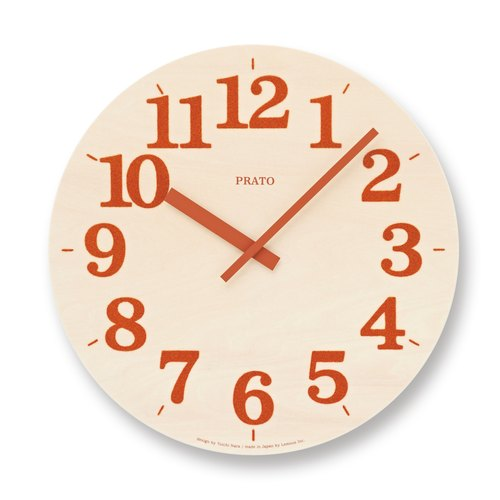 NY12-07 OR Turf Clock - Orange