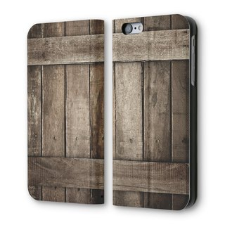AppleWork iPhone 6 / 6S can flip holster vertical wooden PSIB6S-039