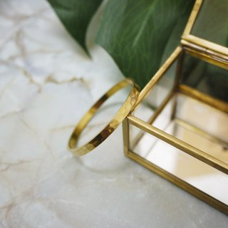 Fashionable and simple brass bracelet
