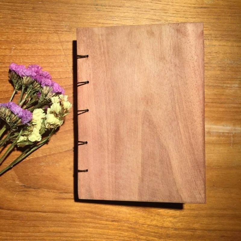 notebook handmadenotebook wood woodcover diary