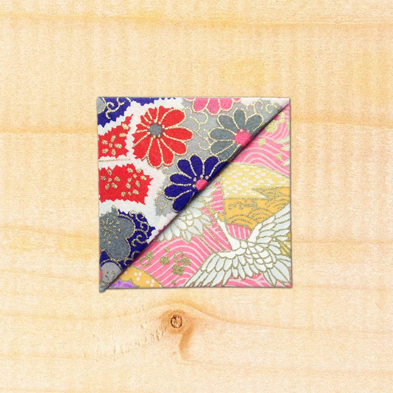 Flower corner bookmarks - Japan imported and paper / handcuffs bookmarks -bookmark#036