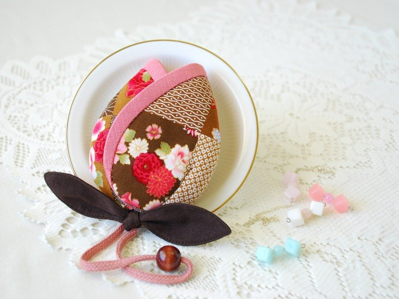 :: cat princess :: three-dimensional flower key bag ~ forgotten series / / spring thinking