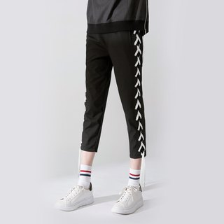 UNISEX LACE UP ANKLE PANTS