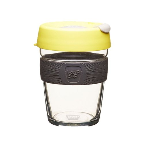 KeepCup Brew - Glass Coffee Cup M - Honey