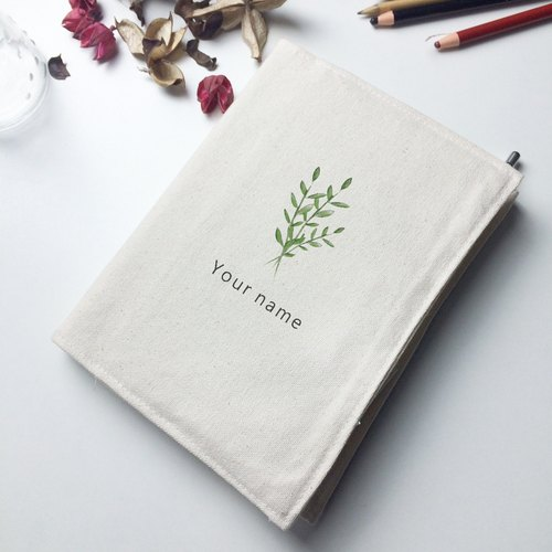 Natural Department of clear canvas hand account / book clothing / hand opening school essential