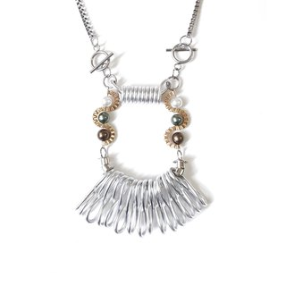 CLEO Necklace :SILVER