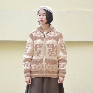 Sha Ying | vintage sweater coat