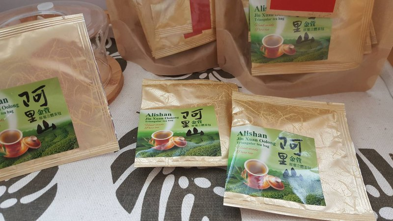 Alishan Jinlong Oolong Tea Stereo Tea Bag Original Slice Original Leaf Handmade Pure Tea