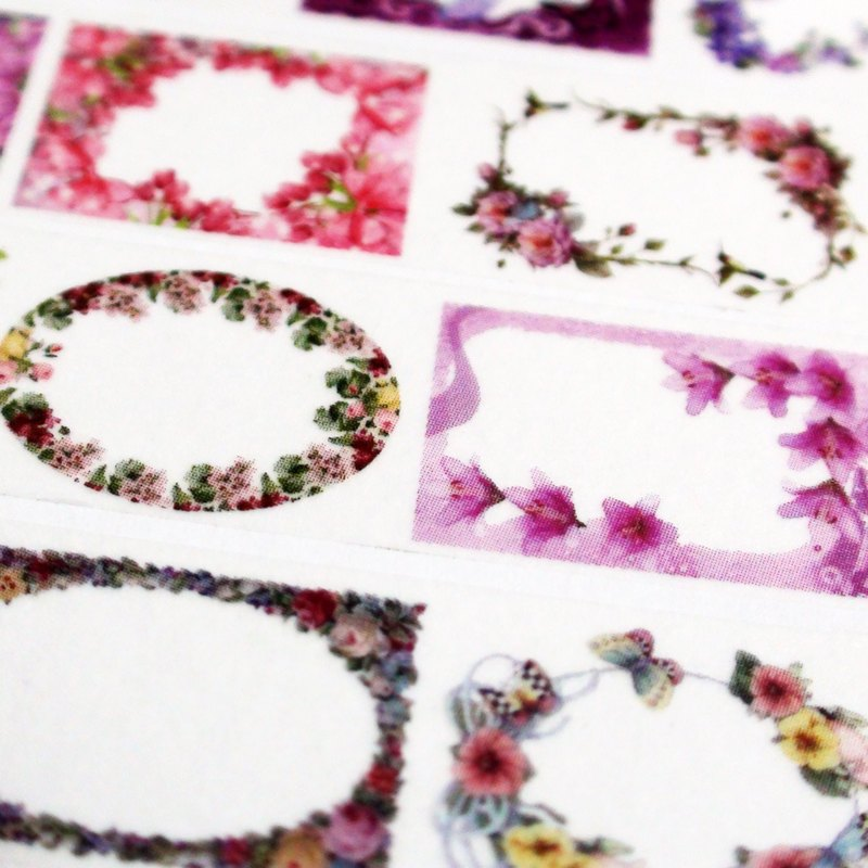 Sample Washi Tape Flower Whisper