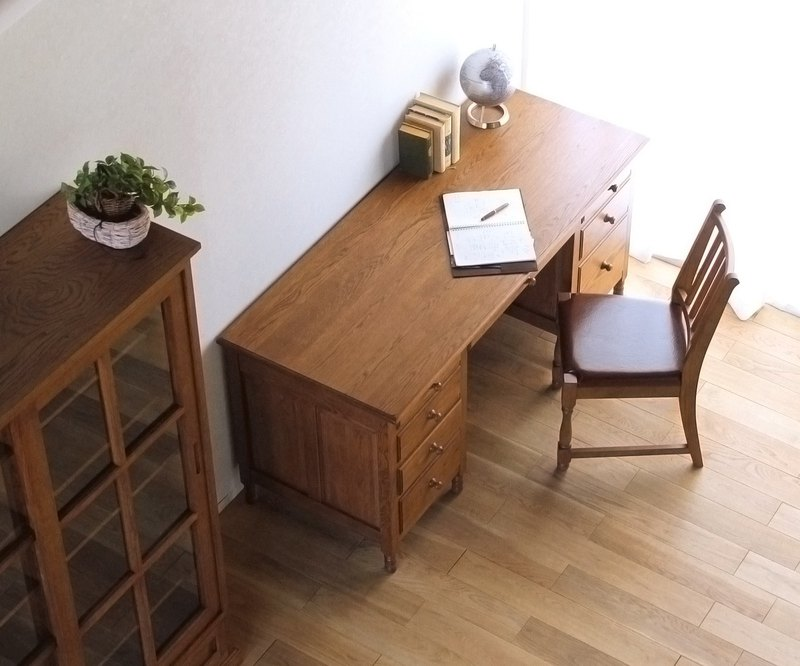 Asahikawa Furniture Yamamuro Furniture Manufacturing Co., Ltd. Takumi Kita (H) No. 04 One Sided Desk No. 05 Double Sided Desk