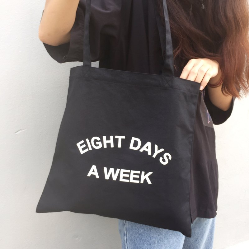Eight Days - Tote (Black)