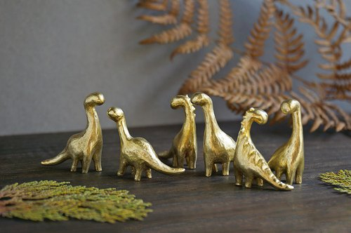 Ancient Beasts Brass Dolls