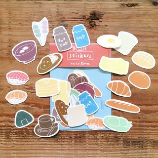 Delicious Japanese / Stickers / Eat together
