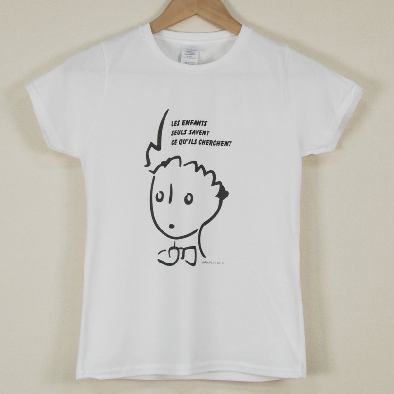 Little Prince Classic Edition Authorized - T-shirt: [strange adults] adult short-sleeved T-shirt, AA04