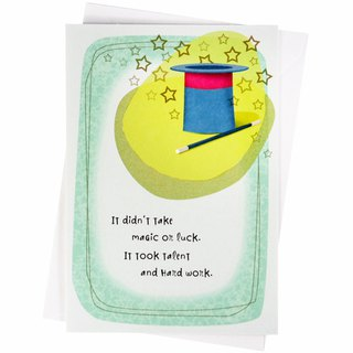 Beautiful things come to you [Hallmark - Card Congratulations Congratulations]