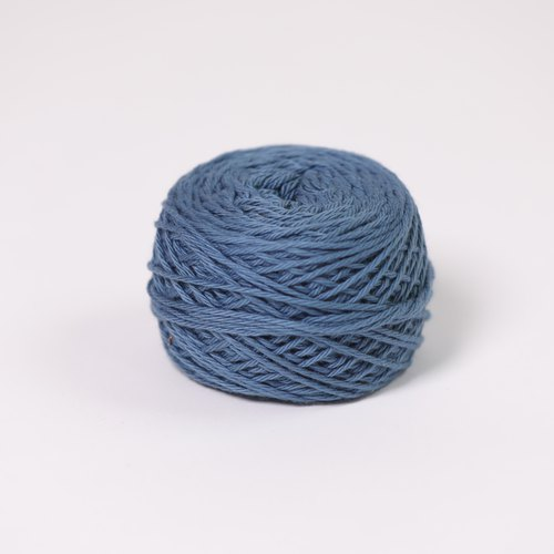 Hand twist cotton - blue - fair trade