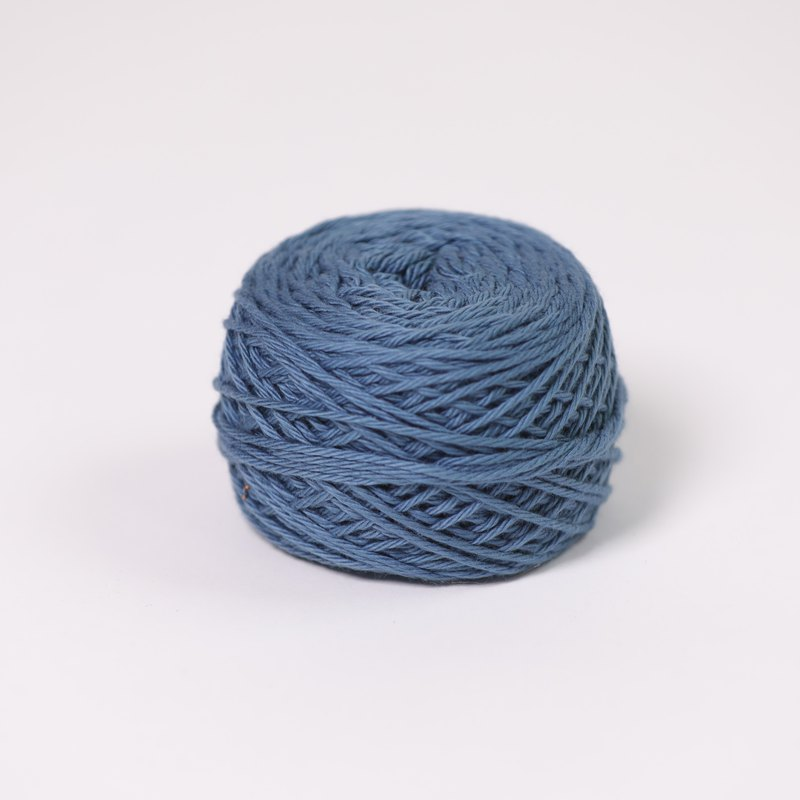 cotton yarn-blue-fair trade