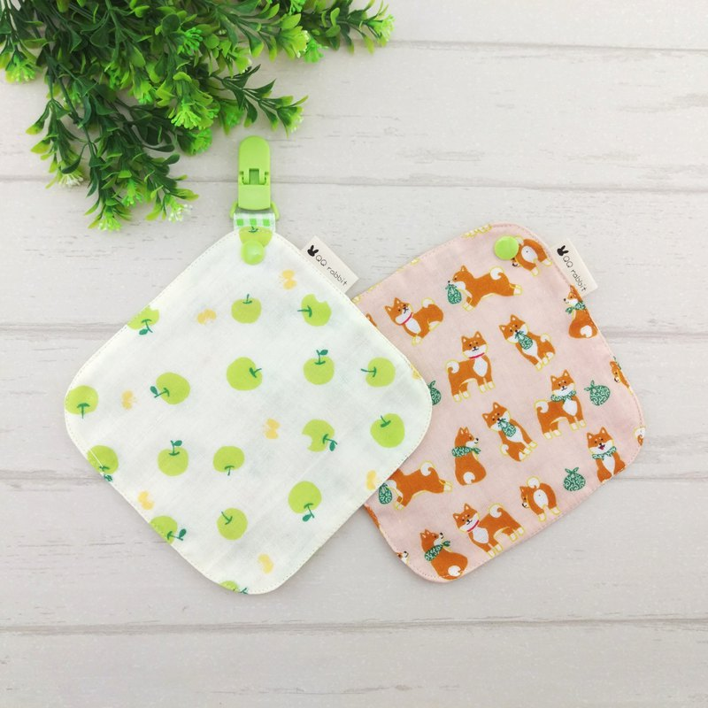 Optional cloth. 2 into Japan four-fold handkerchief + 1 handkerchief clip