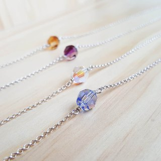 Candy Planet Silver Necklace