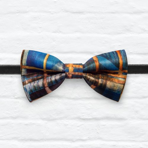 Style 0277 Modern Boys Bowtie, Toddler Bowtie Toddler Bow tie, Groomsmen bow tie, Pre Tied and Adjustable Novioshk