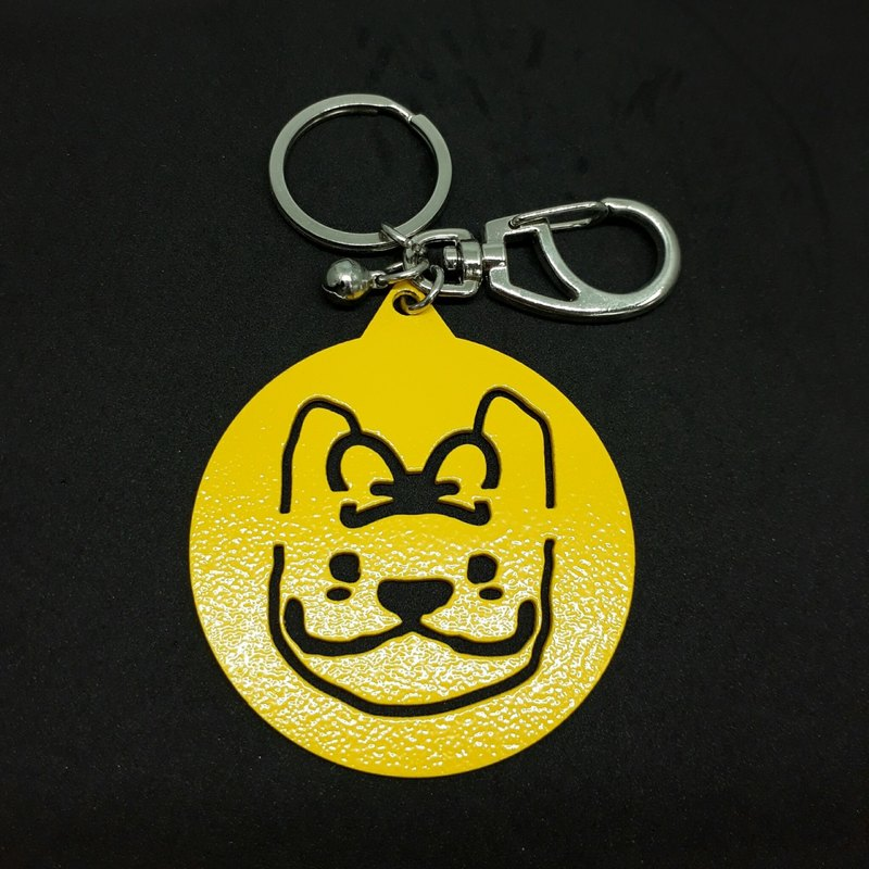 LAZYMARU- MA001089 SHINY DOLL key ring (yellow) Fighting accessories Taiwan,
