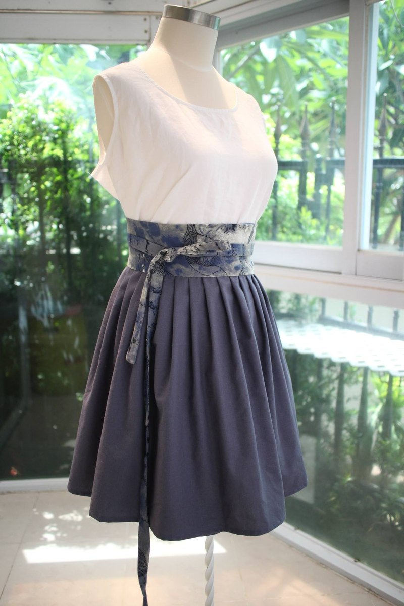 Handmade by Cherry Everyday Hanbok - Limited Edition ink style Korean dress