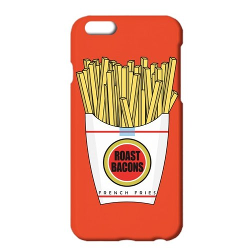 Free shipping [iPhone Cases] Roast Bacons × Junk Food red