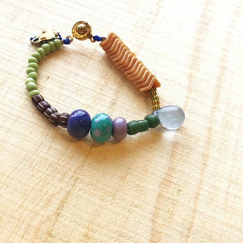 [Cat and Mice • Beads beat Beads] bracelet collection-005 Drift