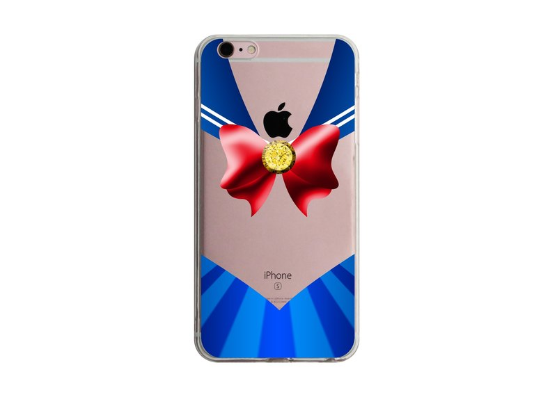 Custom red bow sailor transparent Samsung S5 S6 S7 note4 note5 iPhone 5 5s 6 6s 6 plus 7 7 plus ASUS HTC m9 Sony LG g4 g5 v10 phone shell mobile phone sets phone shell phonecase