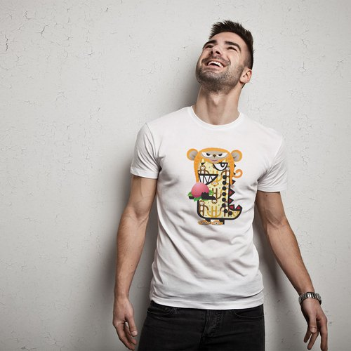 Rawr the Tee-Rex and the Chinese Zodiac Tees - Monkey