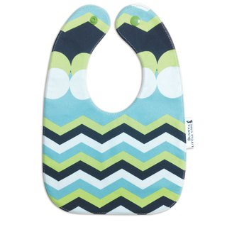 Double Sided Bib - Green Wave