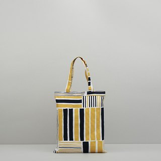 JainJain middle bag / iron house yellow blue
