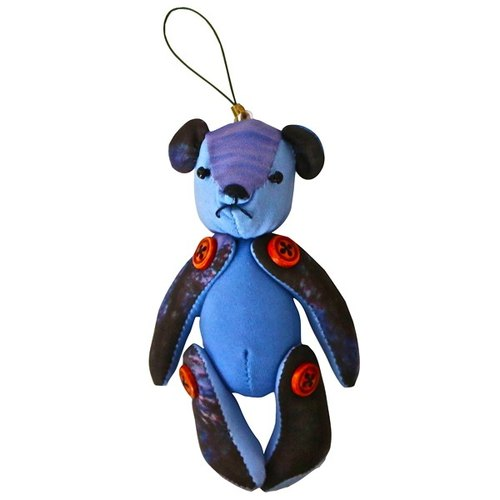 Jue original teddy bear key ring / cloud sea handle