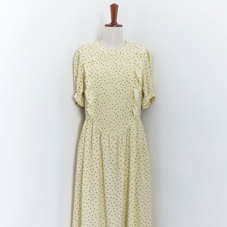 Banana Flyin Vintage :: Summer Romance :: Vintage Ancient Short Sleeve Dress