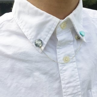 【Planet】Uranus & its moon Collar Clips